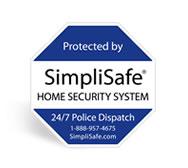 simplisafe yard sign